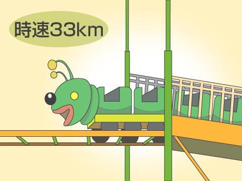 さまざまな日本一、個性豊かなコースター!