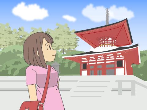 1200年前、高野山を開いた弘法大師空海が入定した「奥の院」