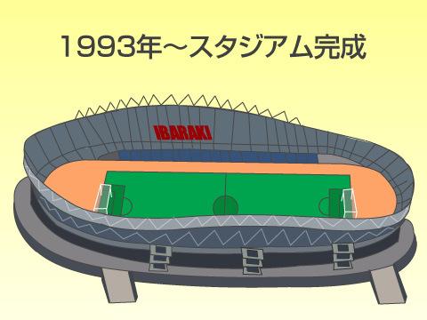 日本初の本格的なサッカー専用スタジアム