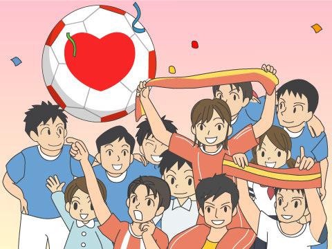 サッカーを通して社会に貢献