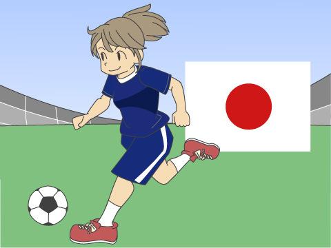 日本代表、なでしこジャパン