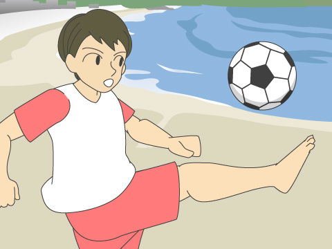 ビーチサッカーのルールと魅力