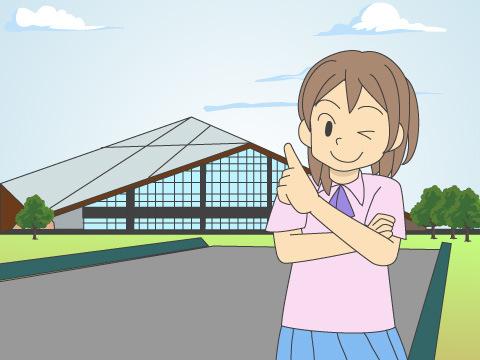 香川県立大川体育館
