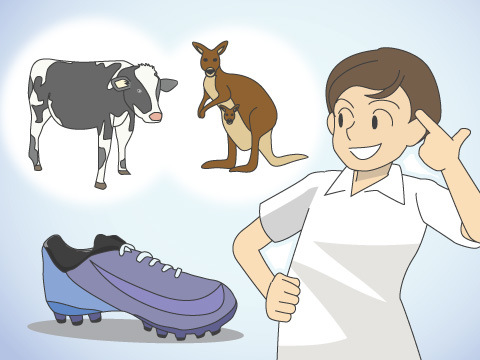 足になじむ天然皮革
