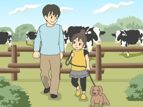 「牧場」で楽しむ