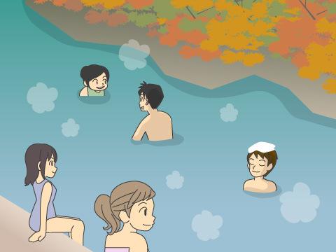 川湯温泉「仙人風呂」(和歌山県)