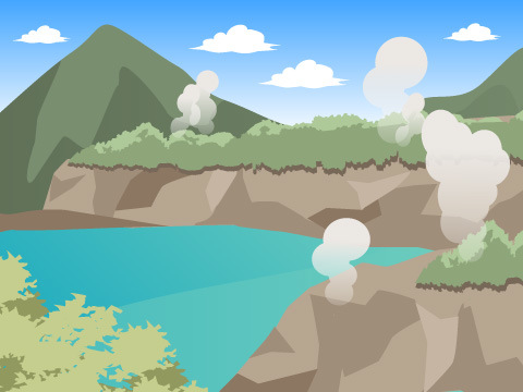 鰻温泉(鹿児島県)と西郷