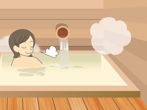 鳴子温泉の「滝の湯」(宮城県)
