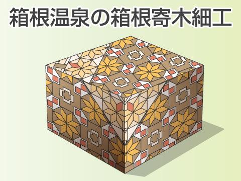 箱根温泉(神奈川県)の箱根寄木細工