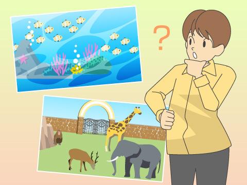 水族館と動物園の違いは?