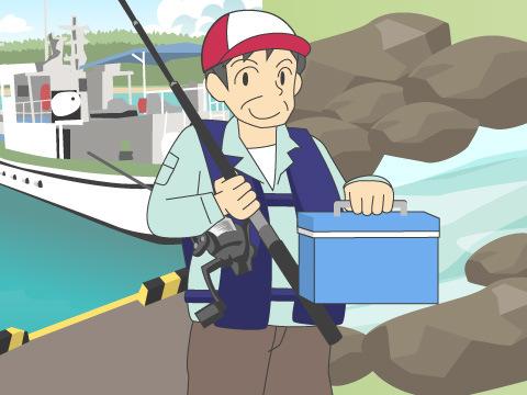 海釣りか? 渓流釣りか?