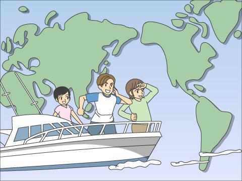 世界各国で行なわれているクジラツアー