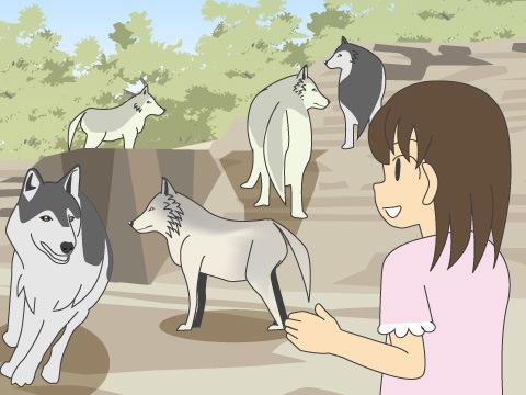 「オオカミ」に会いに行こう