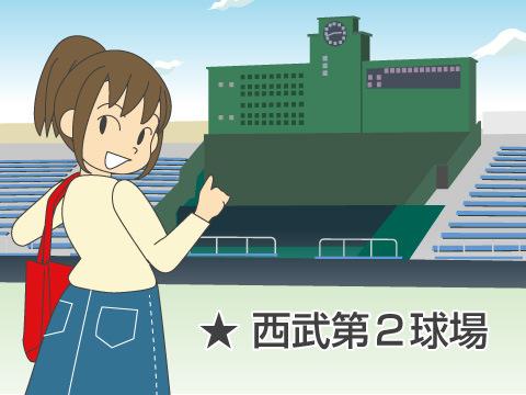 西武第二球場(埼玉西武ライオンズ)
