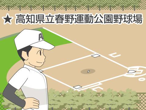 高知県立春野運動公園野球場