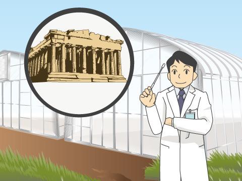 植物園の起源は古代ギリシャ
