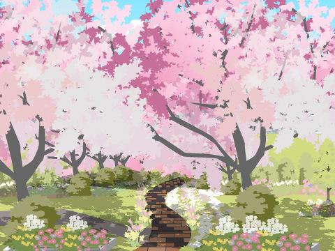 花木見本園