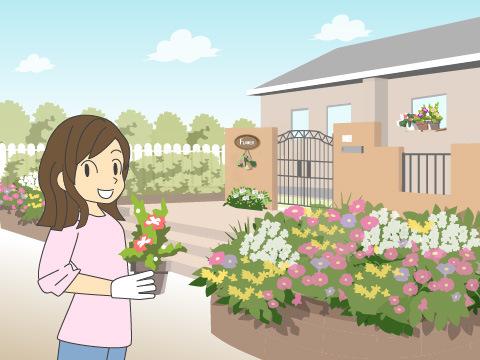 個人の植物園