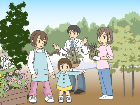 5月4日は、植物園の日