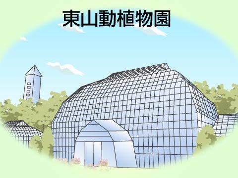 東山動植物園(愛知県名古屋市)