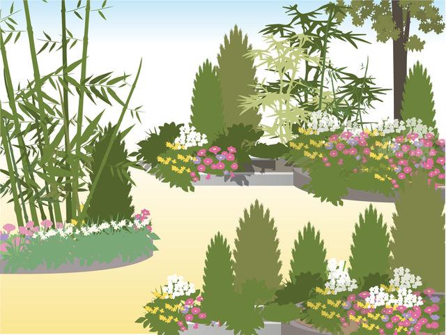 苑内で見られる貴重な亜熱帯植物
