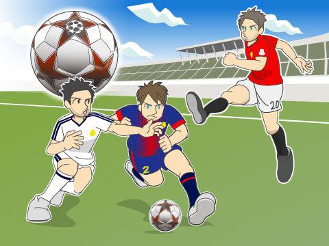 サッカーの国際大会について