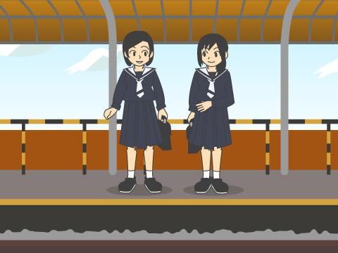 日本一短い隣接駅間距離