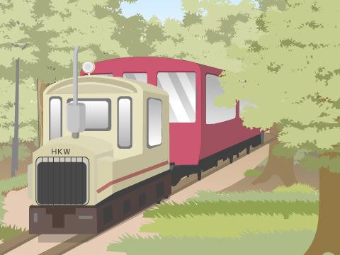 乗り鉄にオススメ!長野県「赤沢森林鉄道」