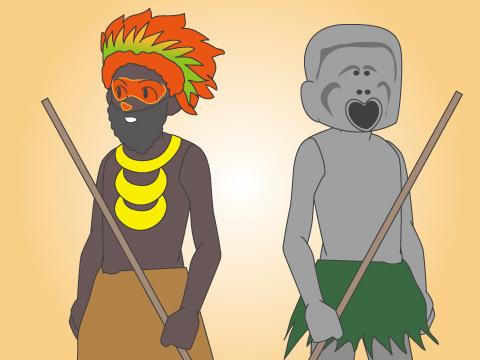 ゴロカショー/パプアニューギニア