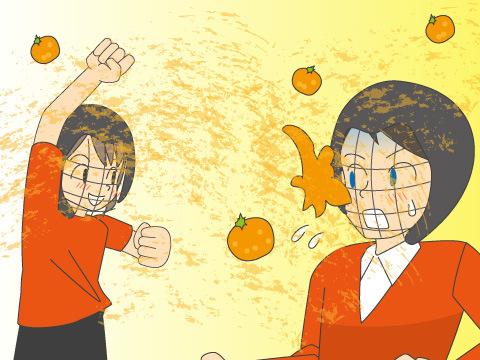 オレンジ投げ合戦祭り/イタリア