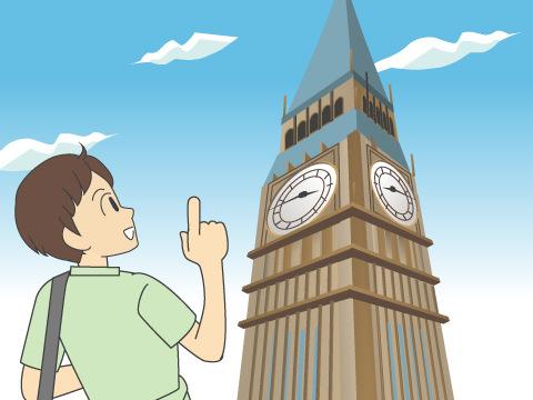 エリザベス・タワー(ビッグ・ベン)/イギリス