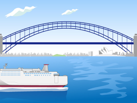 シドニー・ハーバーブリッジ/オーストラリア