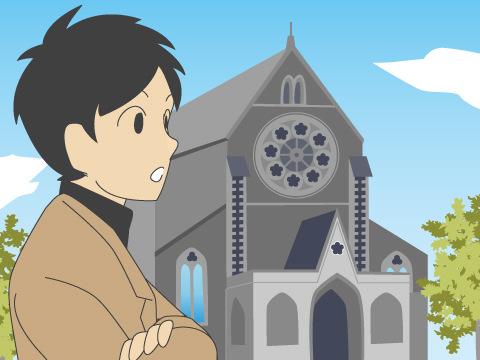 クライストチャーチ大聖堂/ニュージーランド