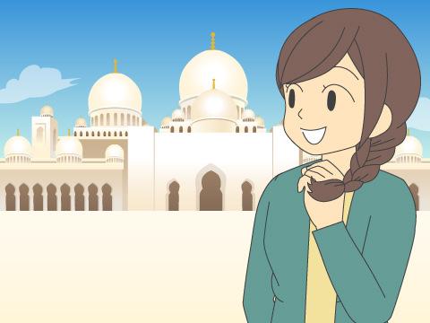 シェイク・ザイード・グランドモスク/アラブ首長国連邦