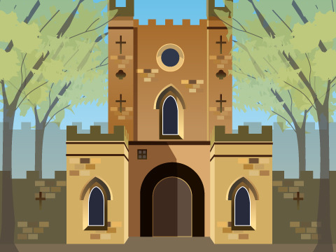 ダラム城と大聖堂/イギリス