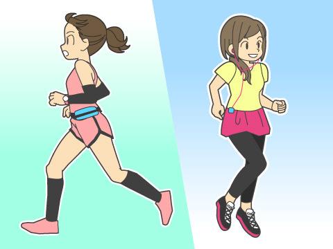 ジョギングとマラソンの違い