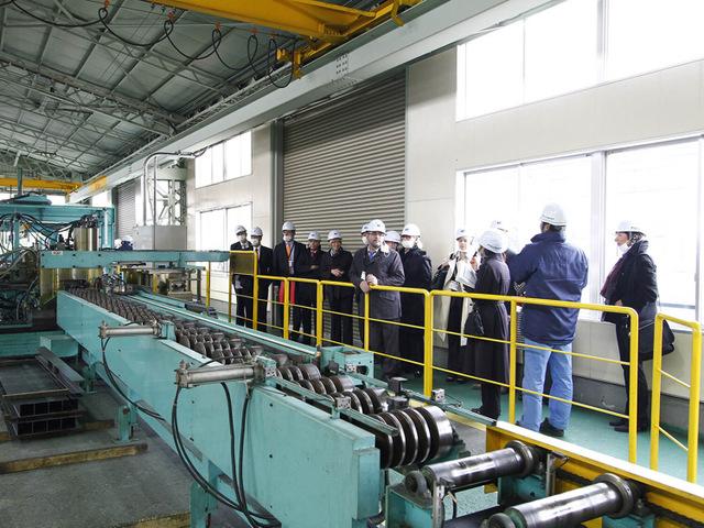 NK深谷工場視察風景1
