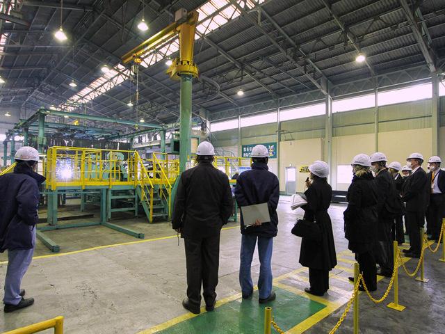 NK深谷工場視察風景3