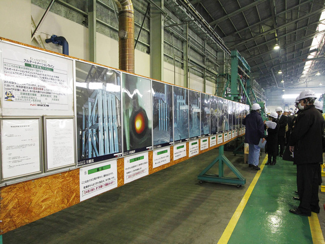 NK深谷工場視察風景4